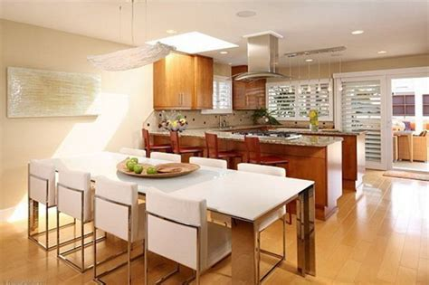 Modern Contemporary Kitchen Designs With Dining Room   4