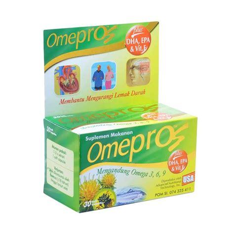 Om3heart Omega 3 Isi 30 Cap jual omepros multivitamin dan supplement kesehatan 30