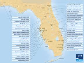 map of hca hospitals in florida florida opportunities