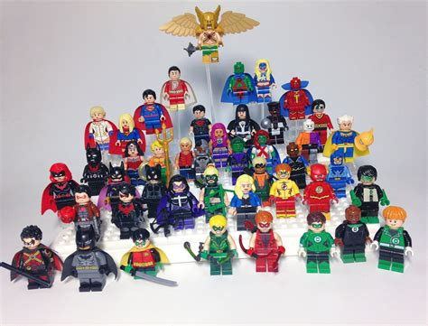 Minifigure Minifig Dc Justice League Batman Wings Joker Bane Set lego justice league i need to find some figs if you flickr