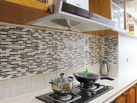 frentes de cocina nuevos  estos azulejos adhesivos cocinas  encanto