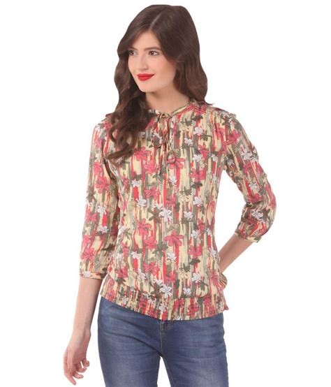 Blouse L Fit Xl Tina Katun Rayon Limited buy zeroed beige rayon tops at best prices in india snapdeal