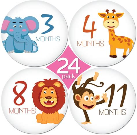 Baby Month Stickers