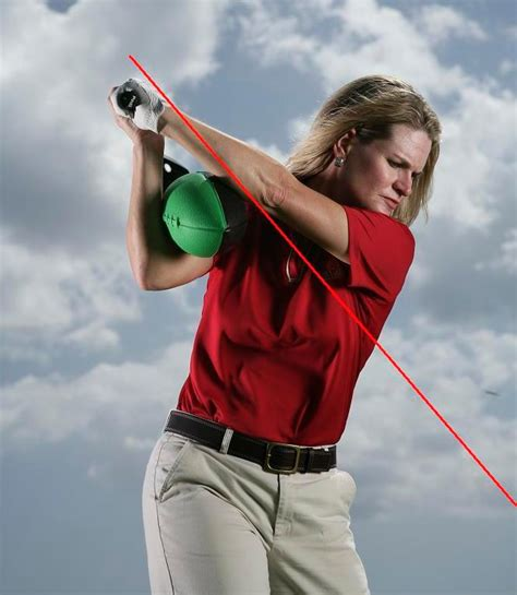 flying right elbow golf swing curing the driver anne cain golf academy