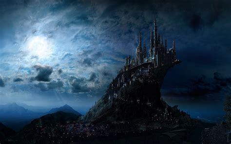 film fantasy welt foto harry potter hogwarts burg fantasy film mond nacht