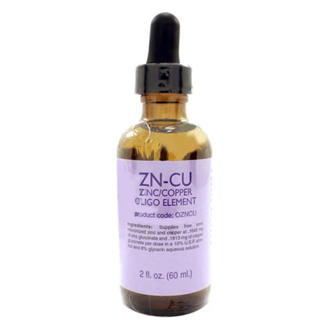 Zinc For Copper Detox by Professional Complementary Health Formulas Zncu Zinc