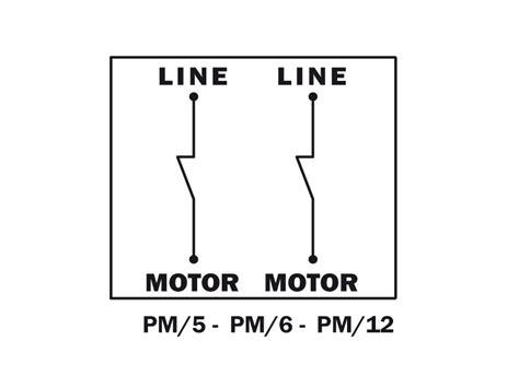 Pressostato Autoclave Collegamento Elettrico by Pressostato Monofase Ate 5