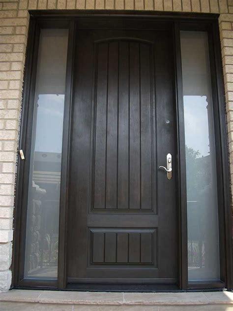 Exterior Door Fiberglass Rustic Fiberglass Exterior Doors