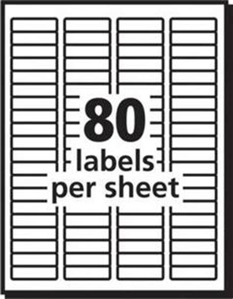 avery easy peel white laser return address labels 12 x 1