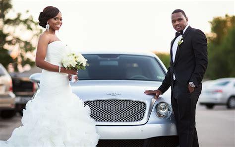 black wedding style this couple brought mardi gras to