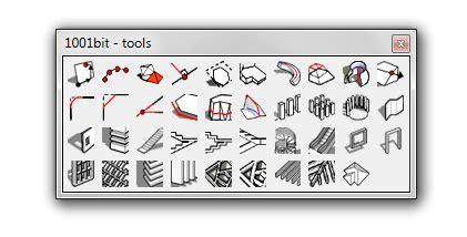 1001 bit tools 1001bit tools sketchup 8