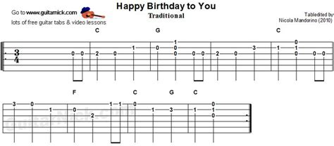 Tutorial Guitar Happy Birthday | 73 best images about tablatures on pinterest guitar
