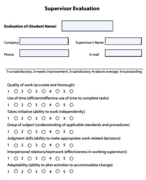 professional development evaluation form template evaluation template free documents in pdf