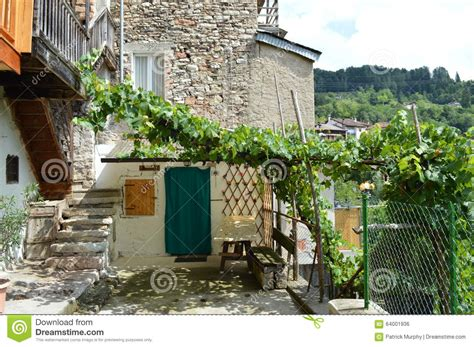 Patio In Italian by Italian Home Courtyard And Patio Stock Photo Image 64001936