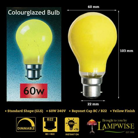 Outdoor Coloured Light Bulbs Branded Coloured Gls Light Bulb L 15w 25w 60w Es E27 Bc B22 Outdoor Ebay