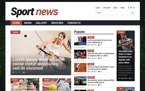 newspaper layout code the 77 top joomla themes and templates for your website