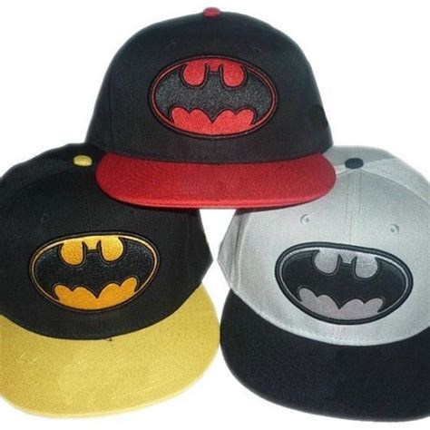 cool batman logo snapback hat from square market