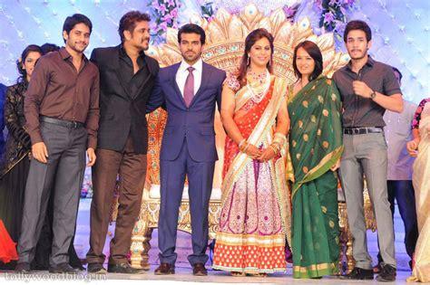 actor nagarjuna family photo akkineni nagarjuna family at ram charan reception
