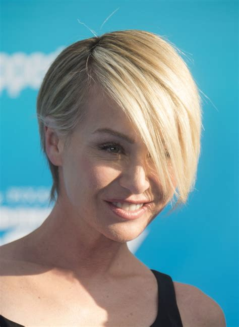 portia haircut portia de rossi short scene cut hair lookbook stylebistro