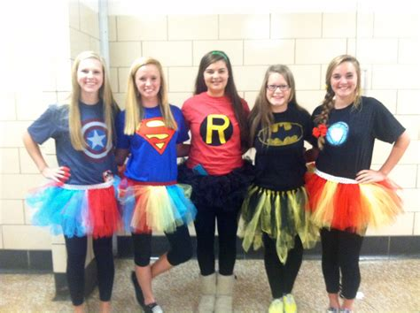 7 Costumes For Your High School by Superheroes For Character Day Diy