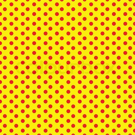 artists pattern of dots duotone red yellow pop art polka dot dotted pattern