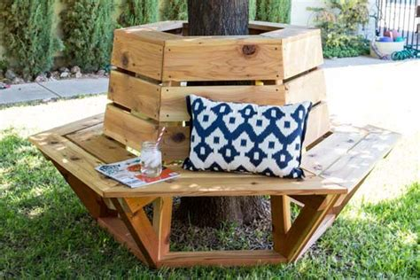 tree seating plan diy a cozy seat around your tree amazing diy interior