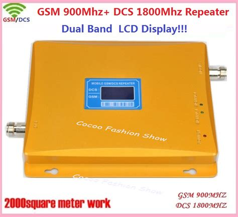 Gsm Dcs Dualband Repeater 900 1800mhz Hr980 lcd display 900 1800mhz dual band 4g gsm celular signal booster gsm dcs cell phone mobile