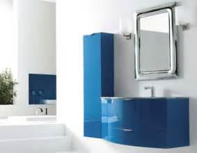 Blue color bathroom vanities