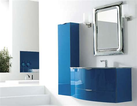 blue bathroom cabinets modern bathroom vanities decozilla