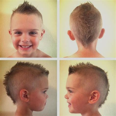 Mohawk Hairstyle Boys by Cool Boys Mohawk Haircut Hairstyle Ideas 1