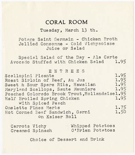 front room menu eat like walt the wonderful world of disney food proves food is an attraction