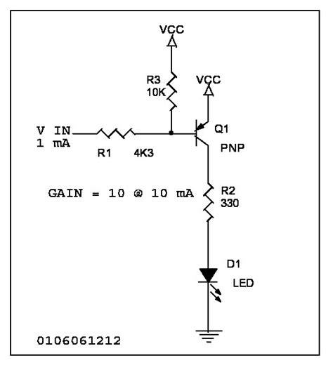 driver transistor pnp typical circuits
