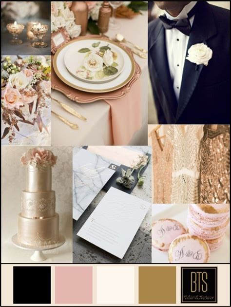 Wedding Colors: Copper, Blush, Ivory, and Black   Wedding