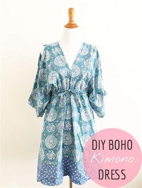 sewing pattern kimono dress free sewing pattern boho kimono dress pattern sewing
