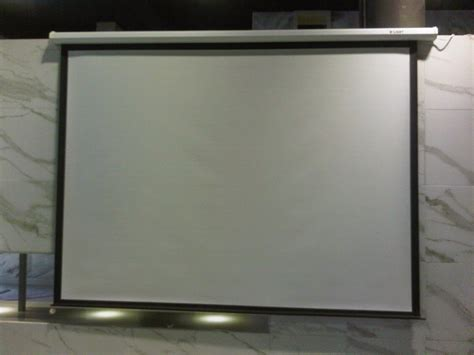 Proyektor Layar jual model layar proyektor manual gantung 70 quot 178cm x