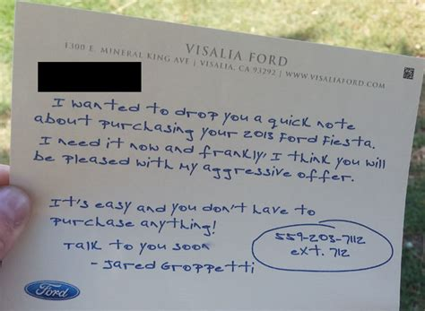 Lemon Letter To Dealer Ford Dealers Offering To Buy Back The And Focus