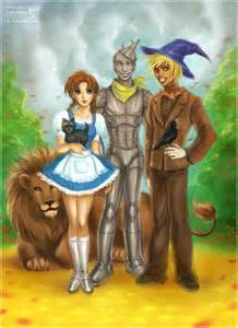 Wizard of oz characters drawings the wonderful wizard of oz