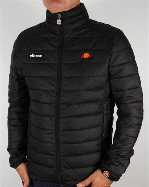 Ellesse Padded Jacket ellesse francesco padded jacket black puffer ski coat mens