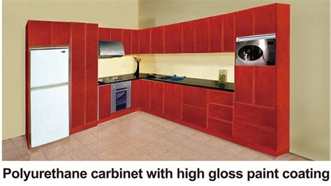 polyurethane kitchen cabinets kitchen cabinet polyurethane cabinet with high gloss paint