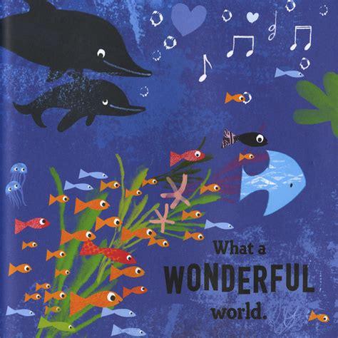 Wonderful World 1 Tim Penulis Worldbook what a wonderful world bob thiele macmillan