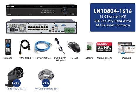 ip security system 2k ip security system with 16 channel nvr and 16