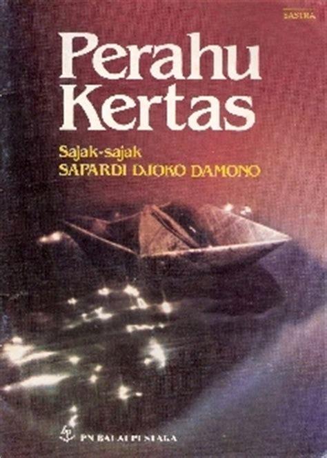 Novel Perahu Kertas By Books Shop perahu kertas by sapardi djoko damono reviews