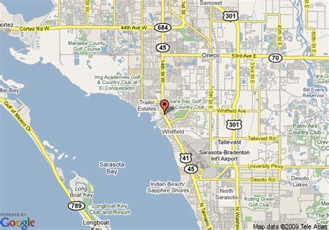 sarasota map map of suburban extended stay sarasota sarasota