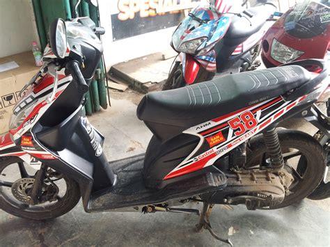 Striping Honda Beat Lamakarbu Radio honda beat ronita digital printing