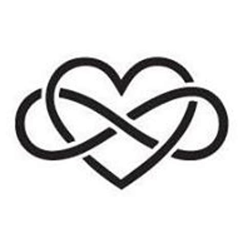 heart and infinity tattoo 46 infinity symbol tattoos