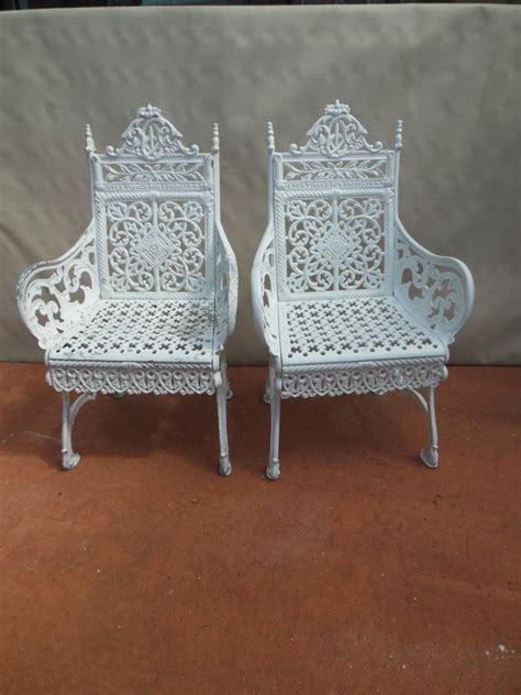 cast iron peter timmes chairs brooklyn ny  stdibs