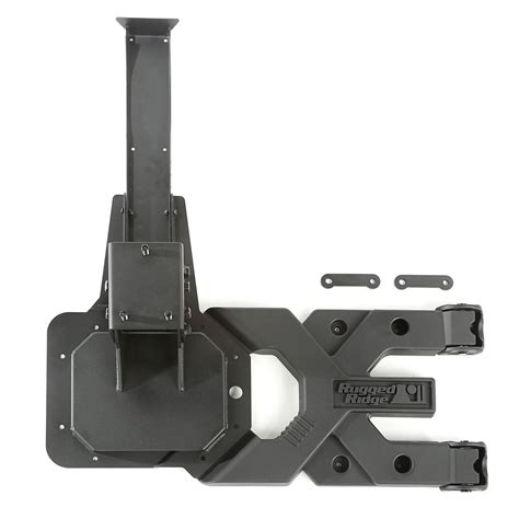 rugged ridge tire carrier free shipping on rugged ridge spartacus hd tire carrier wrangler jk