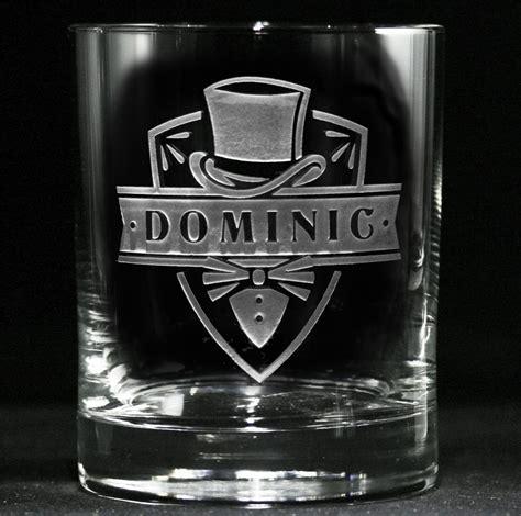 Groomsmen Whiskey Glasses, Scotch Bourbon   Groomsmen