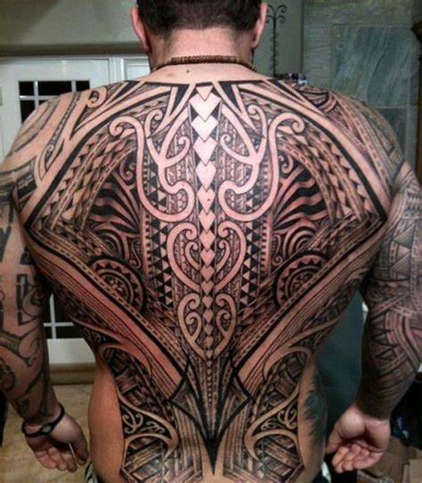 full back tribal tattoo designs 48 coolest polynesian designs