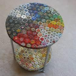 kronkorken tisch decker bottle cap table